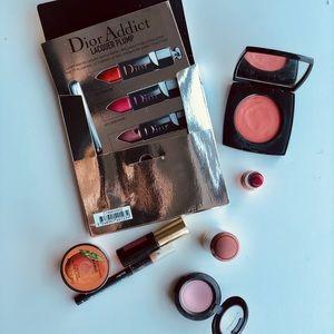 Chanel, Dior, YSL, Givenchy, Mac, The Body Shop